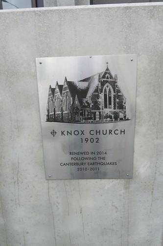 Knox Church, Victoria Street