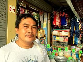 Tabuelan market vendor Arthuro B. Vincente | by dilg.yolanda