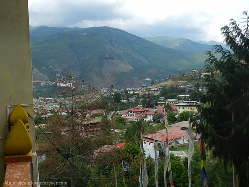 View from our room, Mandala Resort Garden, Paro | by moon@footlooseforever.com