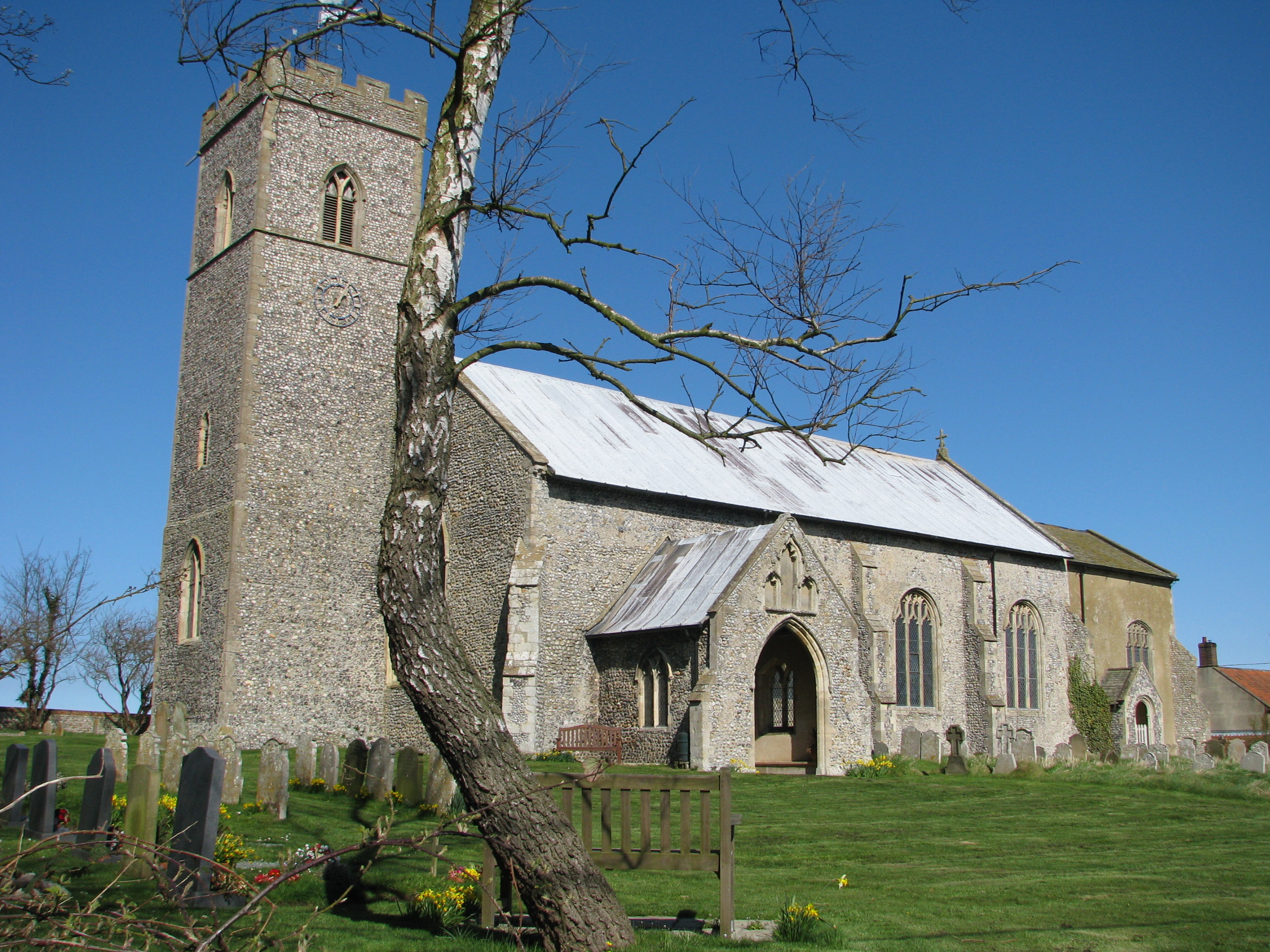 St Peter and St Paul, Knapton Church