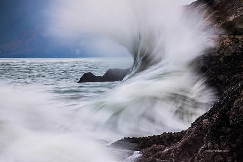 ocean sanfrancisco california usa mountain nature water landscape rocks waves pacific bidun sergeybidun