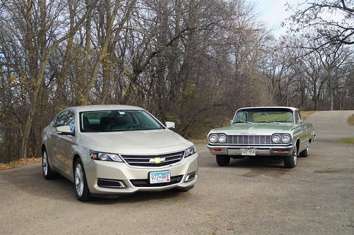 1964 Chevrolet Impala SS & 2014 Chevrolet Impala LT Photo