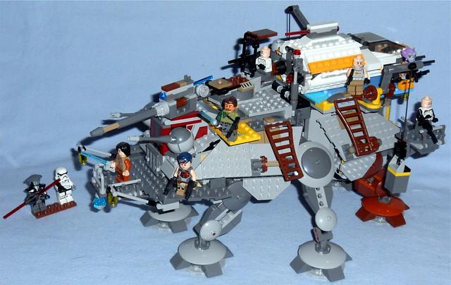 Lego - Rex's AT-TE & Phantom
