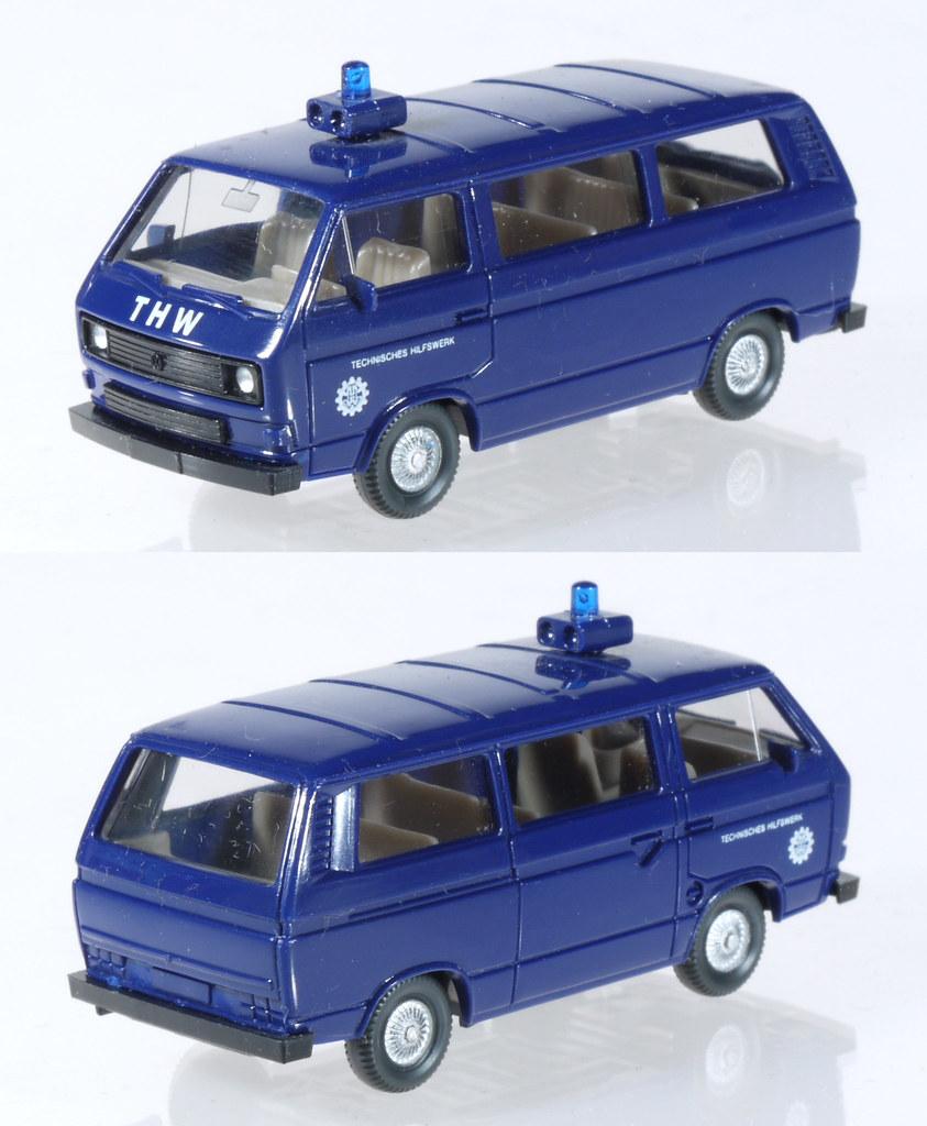 1//87 Wiking VW t3 THW bus 692