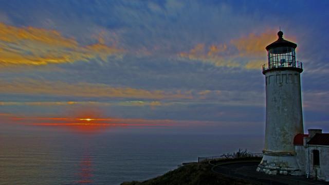 Sunset at North Head