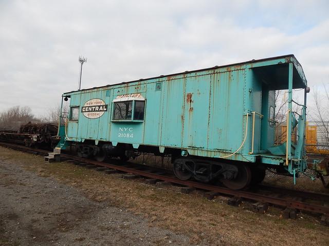 NYC caboose at Elkhart Indiana