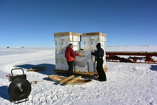 Building the air force pallets of ice cores | by U.S. Ice Drilling