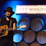 Mon, 22/12/2014 - 10:36am - Langhorne Slim performs for WFUV Marquee Members at City Winery in New York City. 12/1/14 Hosted by Alisa Ali. Photo by Gus Philippas