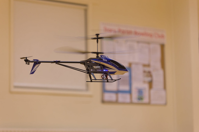 Peter's new helicopter.