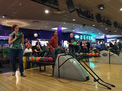 Club bowling night out