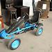 Red or blue go-kart