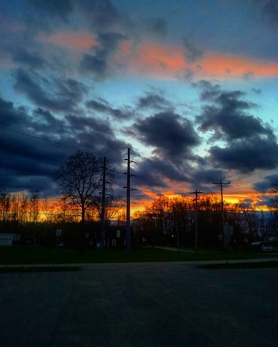 sunset sun pretty sundown olean iphoneography
