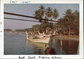 East Coast fishing village