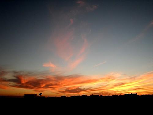sunset morocco guelmim