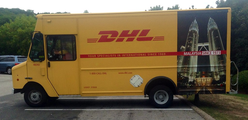 DHL Delivery Truck, 2014, By Mike Mozart of TheToyChannel …   Flickr