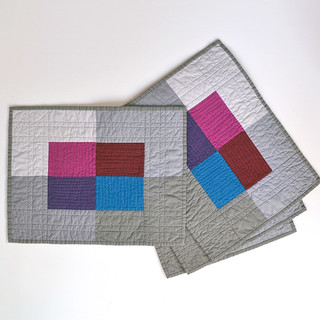 Placemats ~ Color Block | by Jayne ~ Twiggy & Opal