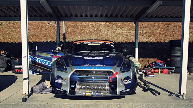 GReddy 35RX Spec-D - Team TOYO TIRES DRIFT TRUST RACING at 2014 TOYOTA GAZOO RACING FESTIVAL