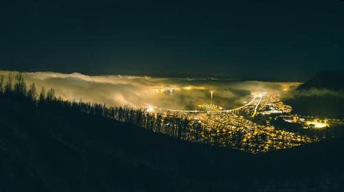 Tromsø by night   by MLangeid