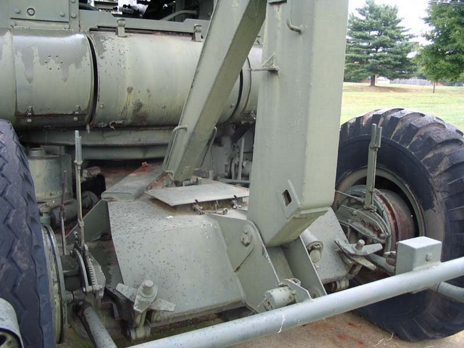 US 90mm M2 Anti-Aircraft Gun 11