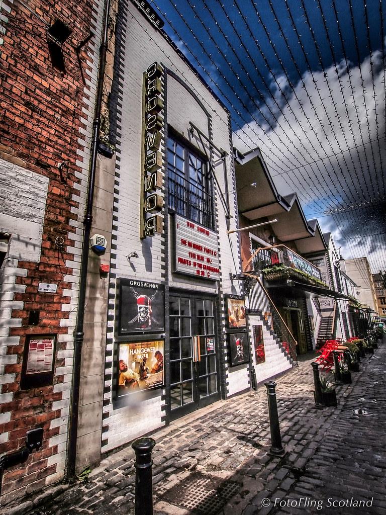 Gainesville Luxury Designer Home: Gosvenor Cinema, Hillhead, Glasgow