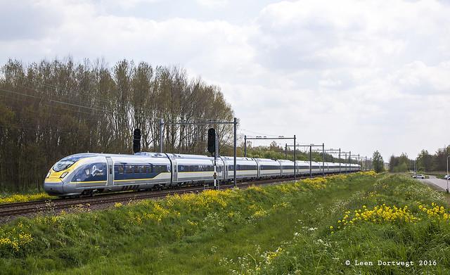 Eurostar 4013+4014, Delft Zuid