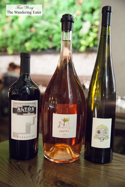 Magnum and Jeroboam bottle wines available to buy for your group (like the Picpoul de Pinet wine from Julie Benau Chichois a la Baraquette)