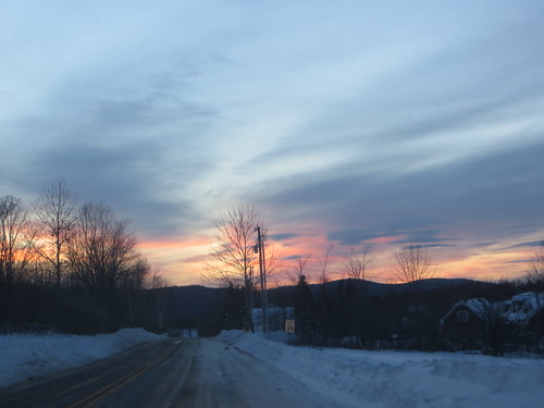 sunset vermont mountholly
