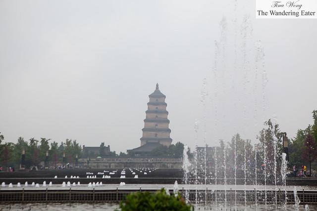 View of Giant Wild Goose Pagoda