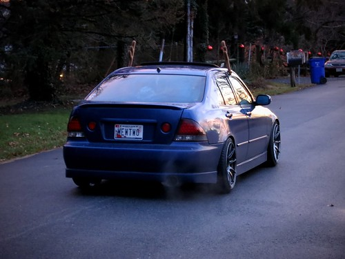 Lexus IS300 Winter Mode Rear | by gold94corolla