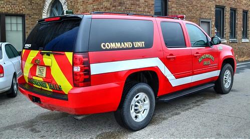 Menomonee Falls Wisconsin, 12-18-2014, Chevrolet Suburban Command Unit 2786, 24 degrees outside (2) Photo