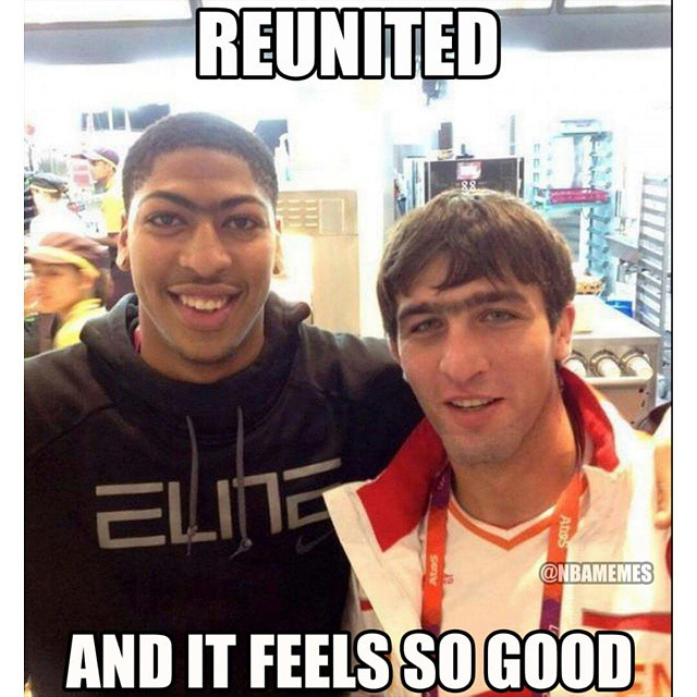 Anthony Davis Was Reunited With His Uni Brow Twin Brother