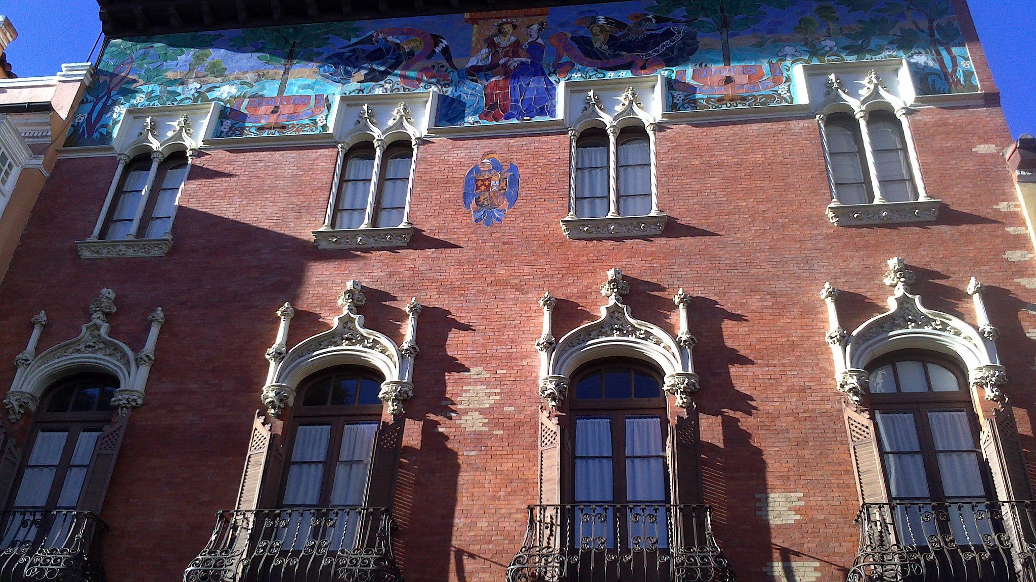 Colegio de Villandrando en calle Mayor de Palencia