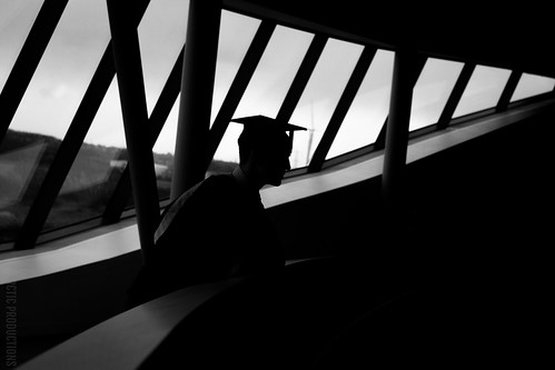 Silhouetted Graduate   by Jason M Parrish