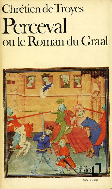 Collection Folio 537 - Chrétien de Troyes - Perceval ou le Roman du Graal