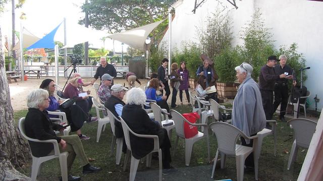 IMG_8245 Carpinteria Art Center Portals audience for Thomas van Stein