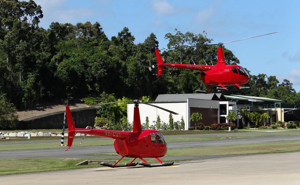 Robinson R44 VH-ZUT & Robinson R66 VH-VRN  (Airlie Beach /… | Flickr