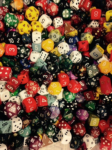 Many Sided Dice Die Grand Rapids Comic Con 11-22-14 | by stevendepolo