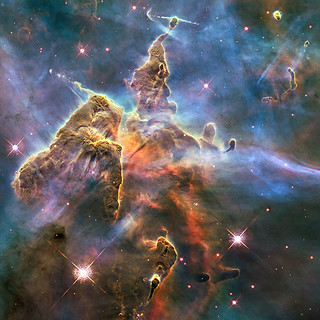 2010: Pillar and Jets in Carina | by HubbleSite