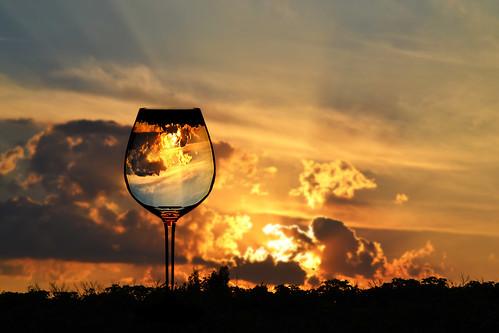 venice sunset italy color glass colors photo nikon flickr tramonto picture pic di venezia lido riflesso d3100