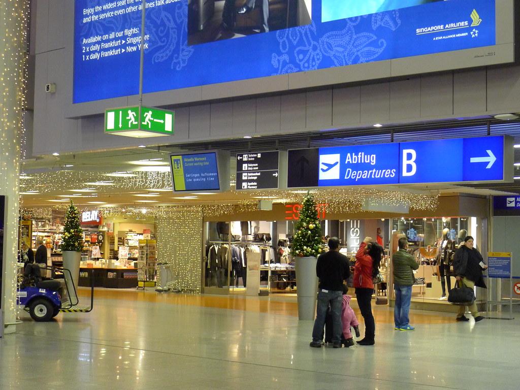 Ankunft Frankfurt Flughafen Ab 18 Uhr