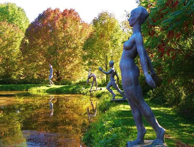 Griffis Sculpture Park near Ellicottville NY