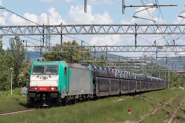 E483 012 Captrain Italia