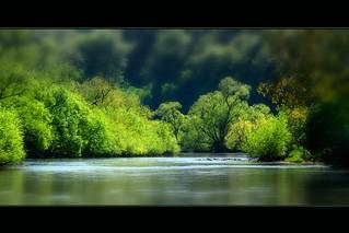 Flusslandschaft - Riverside