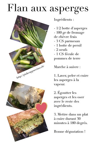 Recette flan aux asperges | by pinkcappuccino