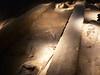 Archeopark Pavlov, odkryté pravěké ohniště, foto: Petr Nejedlý