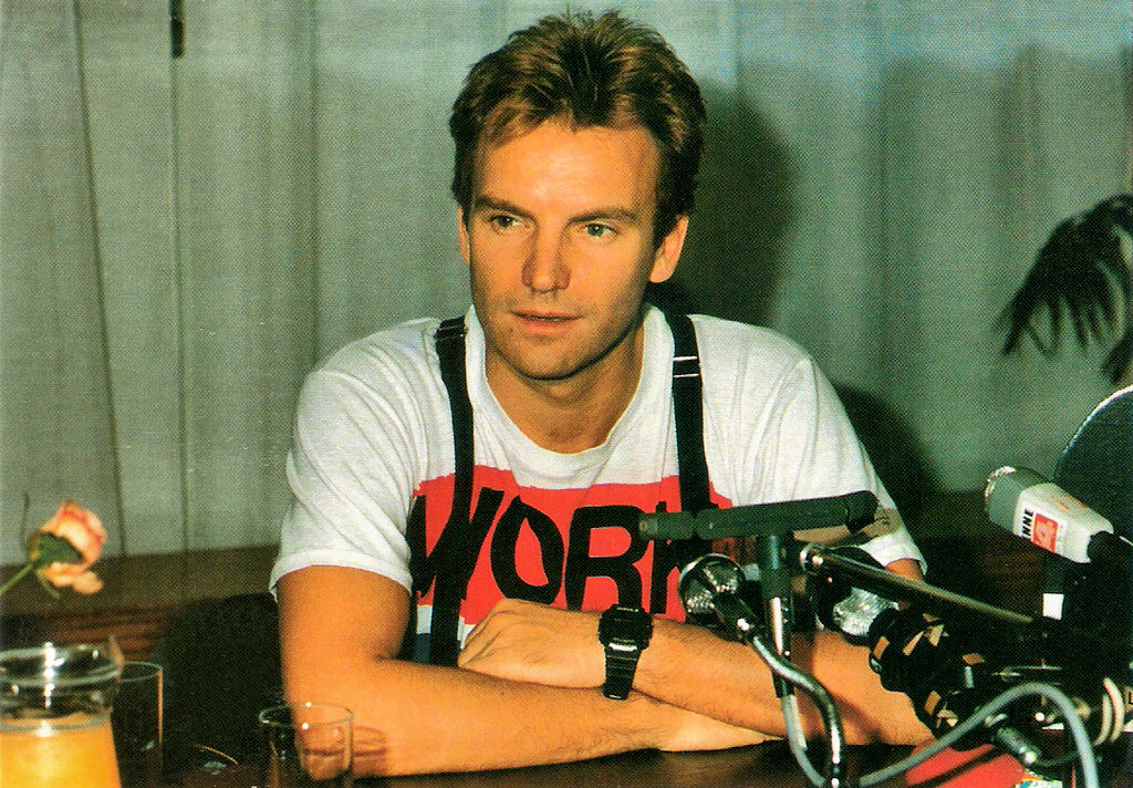 Happy Birthday Sting French Postcard By Les Editions Gil Flickr