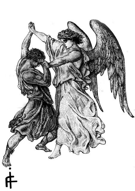 Angel Vs Man