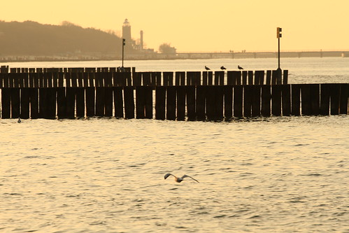 sunset sea beach europe sonnenuntergang waterfront poland polska balticsea polen ostsee pommern 2014 starnd jomaot pomorce