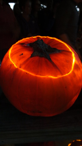 The Glowing Pumpkin