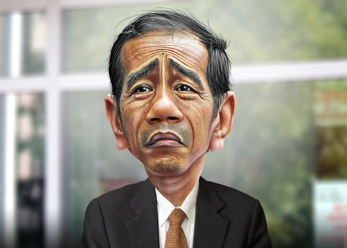 Joko Widodo - Caricature | by DonkeyHotey
